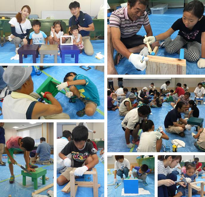 2016.08.27開催 木工教室